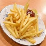 福龍菜館 - 晩酌コース3点セット(980円+税)の『ポテトフライ』2019年12月