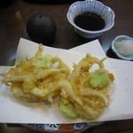 志美津や - 「白海老天ぷら」