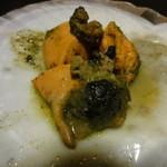 かくまさ - ホタテの肝のバター焼き