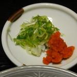 かくまさ - 鍋の薬味