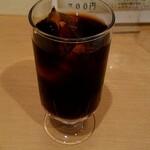 マドンナー - セットのアイスコーヒー