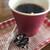 のこバーガー - ホットコーヒー