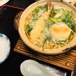 そば辰 - なべ焼(そば)