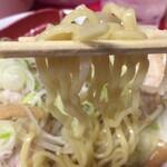 らーめん弁慶 - 麺リフト♪