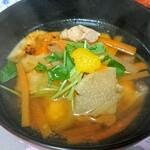 四川飯店 - お雑煮