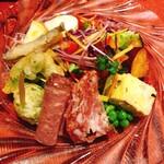 トラットリーア・ラ・カパンナ - 料理写真:前菜とサラダの盛合せ