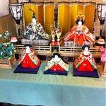 お石茶屋 - お雛様が飾ってありました(^^)