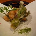 和料理 さうだーで - 天ぷら(タラの芽、鱈)