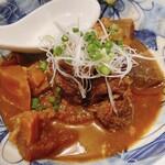 たぬ吉 - イノシシ味噌煮