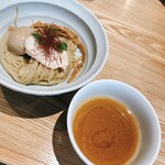 ヌードルダイニング 麺ディー - 味玉ゆず醤油つけ麺 こってりスープ