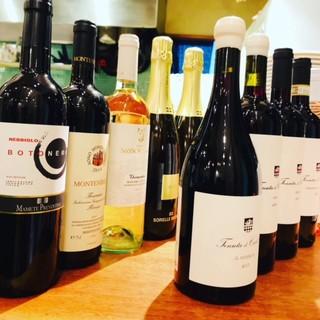 イタリアワインが大好きです。