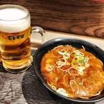 名代 富士そば - カレー蕎麦
