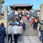 122768504 - 阿智神社は行列でした。