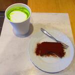 チクロカフェ - 【2020年1月1日】チョコレートディテリーヌ、抹茶ラテ。