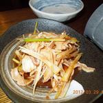 真 - 3/29 ガツネギ・・・皮酢とネギ