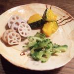 檸檬の実 - 野菜のマリネ