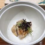 鮨旬美西川 - 北海道産 あん肝とシャリ