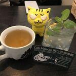東南アジア食堂 マラッカ - お冷&ジャスミン茶