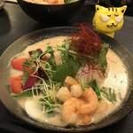 東南アジア食堂 マラッカ - スープカレー海老990円(税込) ※ランチタイムは100円引き