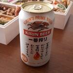 千寿閣 - ビール