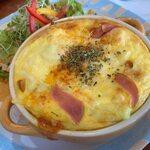 クロッチョカフェ - 料理写真:ナポリタン風ベーグラ