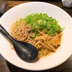 汁なし ゴリラ - 汁なし坦々麺