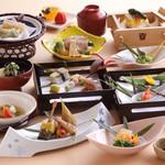 花水庵 - 筍と京湯葉会席 7,350円