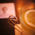 ジェラテリア テオブロマ - ほっとレモネードを飲んでホッとする。