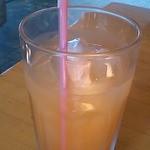カフェ アリス - ピンクグレープフルーツジュース
