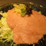 122795780 - 鮪のたたき 温玉醤油丼