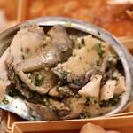 中国料理 月下翁 - 蒸しアワビの麻辣ソース