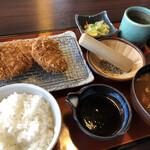 とんかつ たる蔵 - 味噌かつランチ1220円税抜