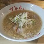 すみれ - 半ラーメン(味噌)