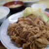 丸長 - 料理写真:豚バラスタミナ焼き定食