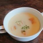 リバティハウス - スープが到着して