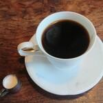 リバティハウス - 食後のホットコーヒー