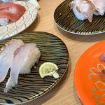 122808072 - 新鮮でおいしくリーズナブルなお寿司の数々。