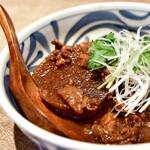 酢重DINING - 牛すじの味噌煮込み定食@1,445円