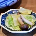 酢重DINING - 【牛すじの味噌煮込み定食@1,445円】小鉢