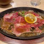 ステーキ食堂BECO - 十勝ハーブ牛レモンステーキ(100g)