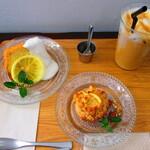 ホサナカフェ - 【2019年】カフェで頂いたスイーツ。