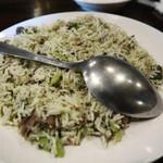 ハーフェズ - バガリポロウ  そら豆、ハーブ、ラム肉のピラフ