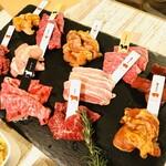 熟成和牛焼肉エイジング・ビーフ TOKYO - エイジングビーフカジュアルコース
