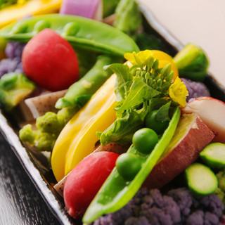 高知のお野菜たっぷりと!
