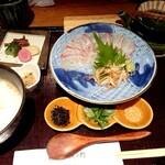 京の米料亭 八代目儀兵衛 - 儀兵衛の銀シャリ鯛のだし茶漬け御前♪