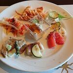 122813574 - SIRIUS @YOKOHAMA ROYAL PARK HOTEL 1皿目 前菜盛り合せ