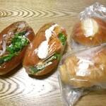 しあわせパン工房 pain de Navel - 料理写真:購入したパン類