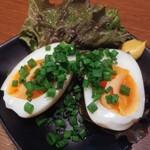 焼き鳥と生サワー トリサワ子 - 味玉120円