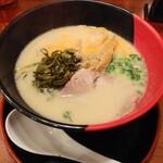 長崎らーめん 西海製麺所 - 高菜528円赤麺