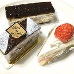 hotel de suzuki labo  - インペリアル(440円)、オペラ(410円)、ショートケーキ(390円)
